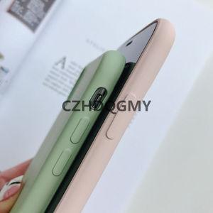 Image 4 - 10 sztuk/partia płynna guma silikonowa miękka pokrywy skrzynka dla iPhone 11 Pro Max 6 6S 7 8 Plus se2 se 2 telefon Coque dla iPhone X XS Max XR
