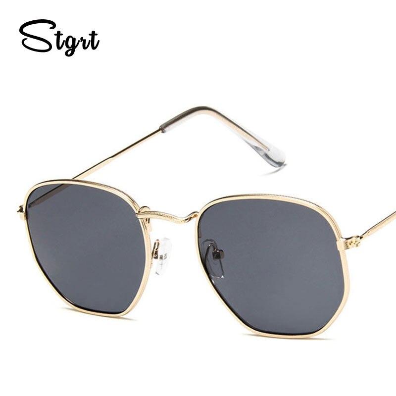 Sunglasses Women Classic Small Square Frame Alloy Glasses 2020 New Style Retro Sunglasses