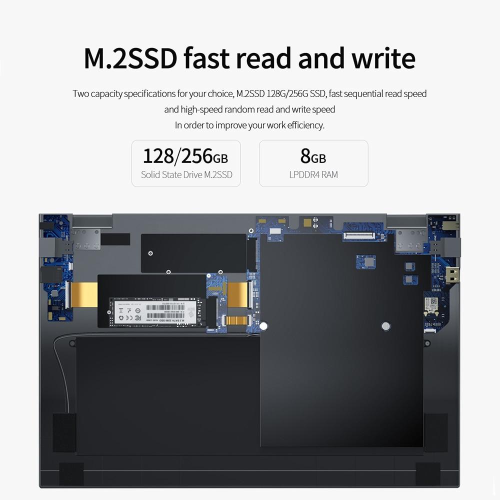 14.1 Inch 8GB DDR4 RAM Student Computer Intel Processor Bluetooth WiFi Windows 10 laptop Full Size Keyboard Student Notebook-3