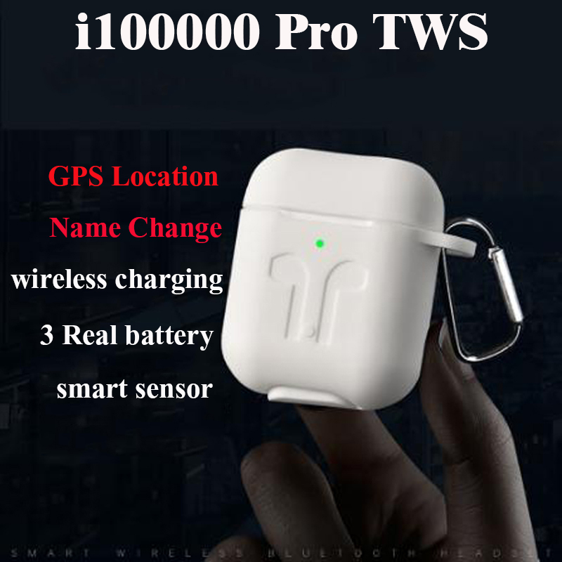 i100000 Pro <font><b>TWS</b></font> Change the name+GPS positioning wireless Bluetooth earphone <font><b>smart</b></font> <font><b>sensor</b></font> pk i90000 pro i100000 <font><b>TWS</b></font> image