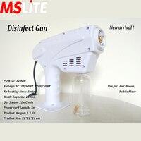 blue light mist sprayer machine portable fine mist spray electric sanitizer atomizing disinfection sprayer
