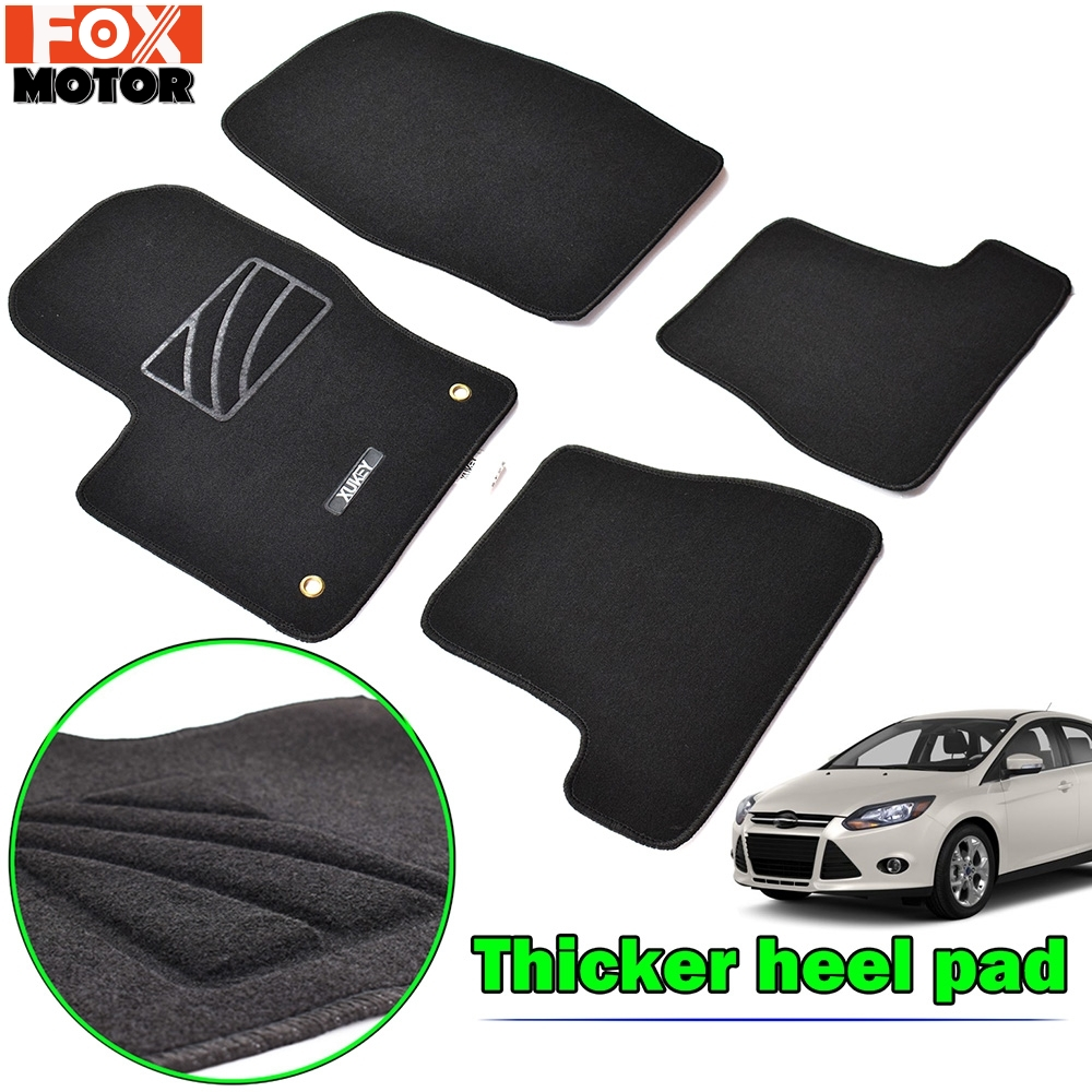 Skoda Superb II Car Mats 2008-2015 Tailored /& Heel Pad RHD