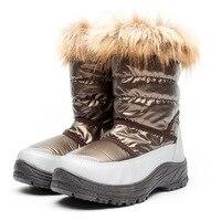 New 2019 Winter 30degree Children Snow Boots for Kids Shoes Boys Boots Girls Warm Plush Waterproof Children Boots