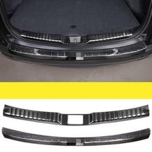 Paslanmaz çelik arka tampon koruma pencere eşiği dış sandıklar dekoratif levha pedalı uygun CRV CR-V 2017 2018 2019 2020