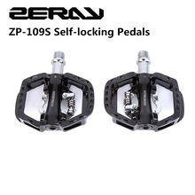 MTB Clipless Bike-Parts Pedals Road-Bike Cycling SPD Self-Locking Upgrade-Of-Zp-108s