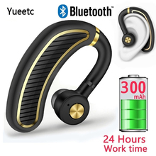 Business Wireless Bluetooth Earphone Headphones with Microphone Noise Cancellation Stereo Sport Headset for Phone IOS Android