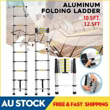 Drywall Ladder Telescopic Single-Extension-Ladder Home-Tools Retractable Multifunctional