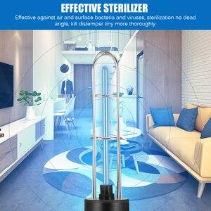 Image 3 - Перезаряжаемый ультрафиолетовый УФ стерилизатор, светильник, лампа для дезинфекции, бактерицидная лампа, озоновый стерилизатор, клещи, светильник s