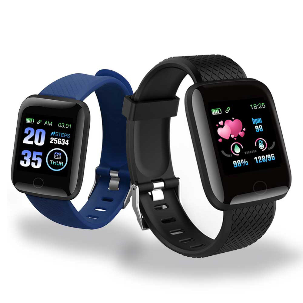 MotionFit 116 Plus Smart Watch Fitness Blood Pressure Heart Rate Android Pedometer D13 Waterproof Sports Smart Watch Band