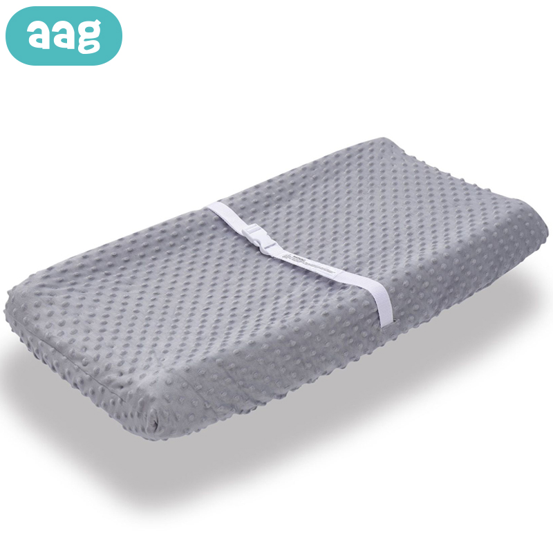 AAG Soft Bubble Baby Diaper Changing Station Table Cover Newborn Diaper Changing Mat Pad Infant Urine Mat Nappy Changer Cover