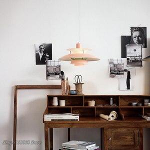 Image 4 - Nordique pendentif Led lumières pour salon coloré suspension lampe salle à manger suspension lampe moderne cuisine luminaires