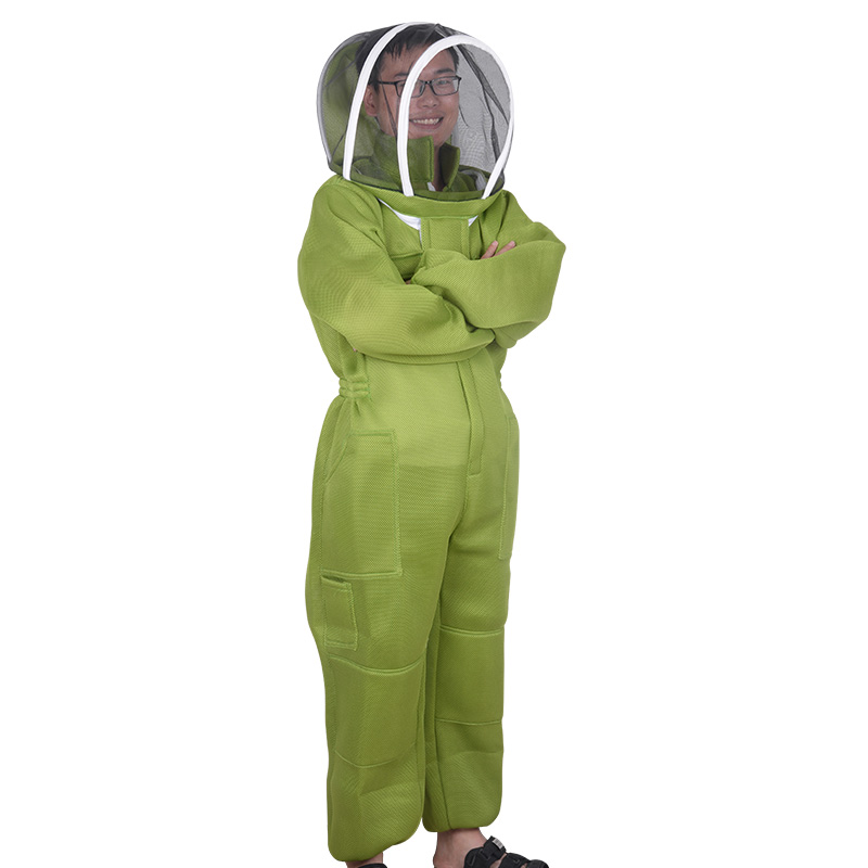Anti-bee Suit Breathable Honey Special Bee Suit Bee Protection Clothing Peak Mask Whole Body Uniform Beekeeping Tools