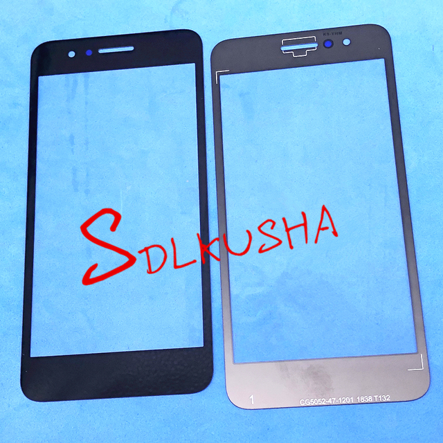 10 Pieces/Lot Front Outer Screen Glass Lens Replacement Touch Screen For LG K9 LM X210ULMG LM X210CM