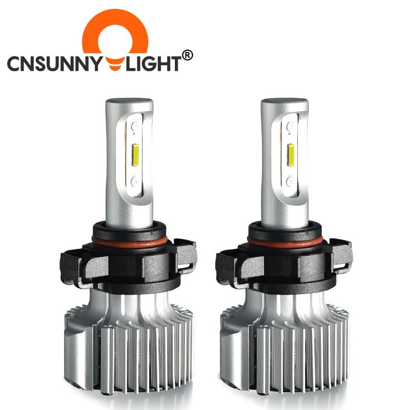 Автомобильные светодиодсветодиодный Противотуманные фары CNSUNNY светильник 11/H8 880 881 H27 H3 H1 H7 Canbus с высоким луминовым потоком, белая лампа 8500Lm ...