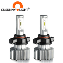 CNSUNNYLIGHT araba LED sis lambası H11/H8 880 881 H27 H3 H1 H7 Canbus yüksek lümen beyaz ampul 8500Lm 5202 P13W PSX24W PSX26W otomatik DRL