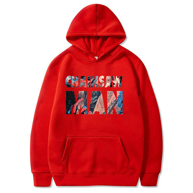 CHAINSAW MAN THEMED HOODIE (10 VARIAN)