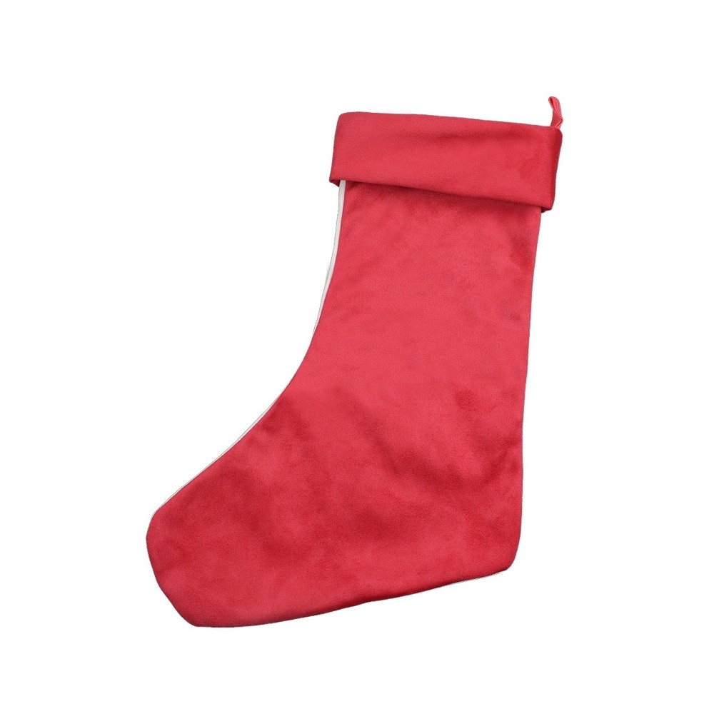 Red Christmas Stocking.Us 11 17 40 Off 1pc Candy Stocking Christmas Stockings Red Santa Claus Socks Candy Gift Bag Xmas Tree Hanging Ornament Decoration For Home On