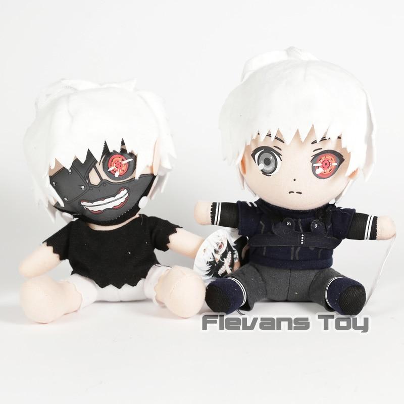 Anime Tokyo Ghoul Kaneki Ken Plush Toys Soft Stuffed Plush Doll Toys 7inch