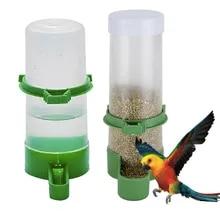 Parrot Cage Bowls Dispenser Pet-Bird-Supplies Water-Drinker-Feeder Drinking-Fountain