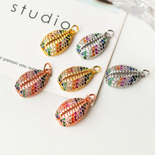 Minghuang new DIY jewelry found shell necklace pendant / earring hook accessories fashion vitality popular creation
