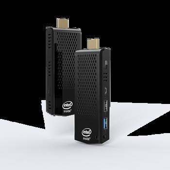 T6 Pro 3.9x1.5x0.5inch MINI PC Intel Atom Z8350 Quad Core WIN 10 2G/32G 4GB/64GB Portable Small BT4.0 Computer Stick PC