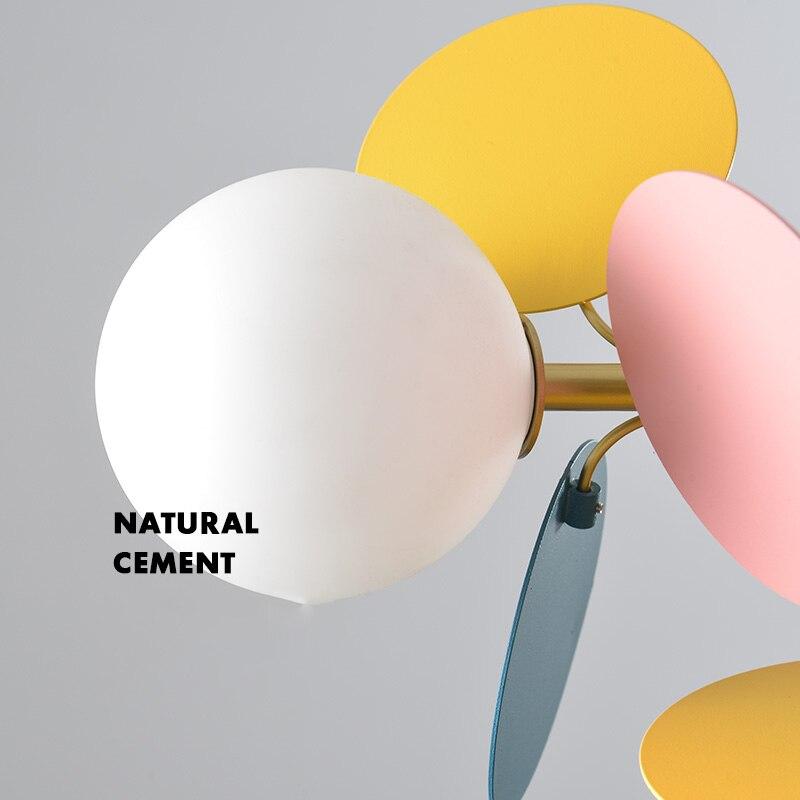 Moderne fer pendentif lumières lampe LED en attente d'éclairage multicolore salon chambre salle à manger Loft décor à la maison suspension lampe - 5