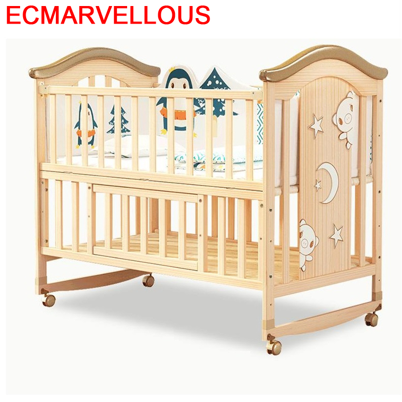 Child Letti Per Bambini Kinderbed Lozeczko Dzieciece Menino Cama Infantil Furniture Wooden Chambre Children Lit Enfant Kid Bed