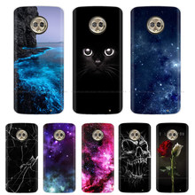 Case For Moto G6 Play Case 5.7'' Silicone Soft TPU Fashion Phone Case For Motorola Moto G6 Play Case G6Play G 6 Play Cover Para(China)