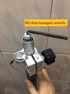 """Image 5 - GPS מוט calibreted פלס חוזר טלסקופי למשוך סיבי פחמן מוט מוט 5/8 """"× 11 חוט עבור מקצועי סקר GNSS RTK"""