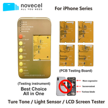 S1 affichage numériseur LCD testeur boîte à outils avec carte de circuit imprimé pour iPhone X XR XS 11Pro MAX Test carte mère écran tactile 3D Test tactile