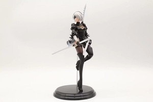 Image 3 - New Japan Anime Action Figure Game Nier:automata 2b YoRHa No.2 Type B Black Dress Sword Ver PVC 25CM Model Sexy Decoration Doll