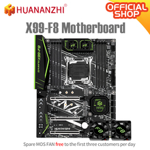 HUANANZHI X99 F8 X99 płyta główna Intel XEON E5 LGA2011-3 wszystkie serie DDR4 RECC NON-ECC pamięci NVME USB3 0 ATX stacja robocza serwera tanie tanio Usb 2 0 Usb 3 0 SATA Intel X99 LGA 2011-3 CN (pochodzenie) M 2 SATA Cztery X99-F8 Motherboard 256 gb