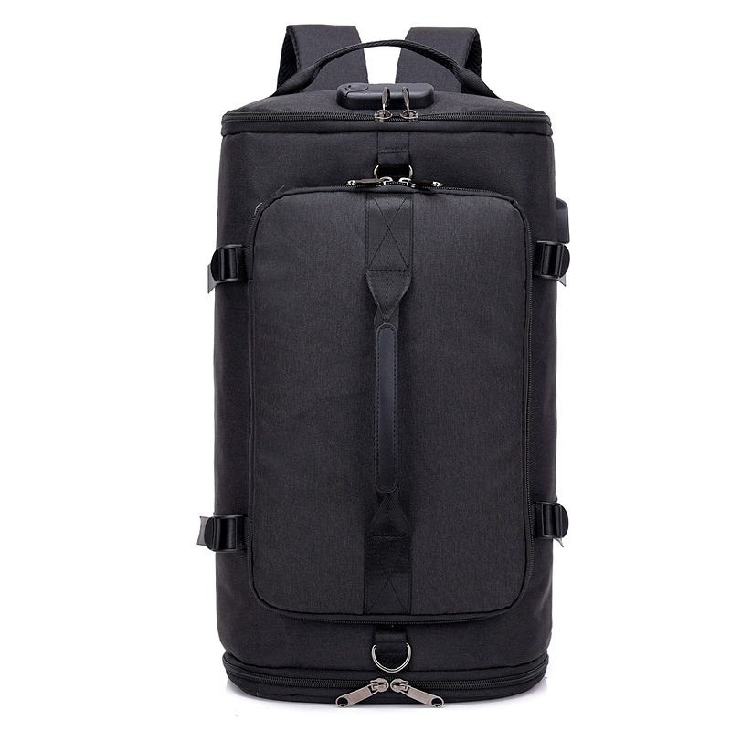 USB Anti-Theft Gym Backpack Men's Fitness Sports Bag Men's Training Sports Tas Travel Sac De Sport Outdoor Laptop Bag XA684WA