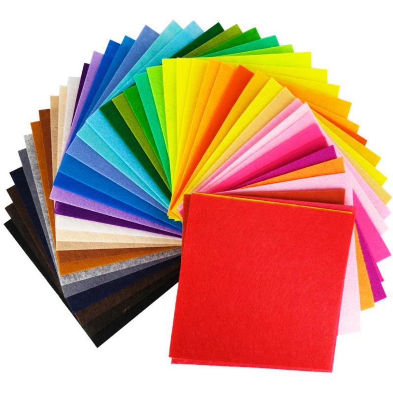 1set Funny Colour Handmade Non-woven Fabric For Kids DIY Handmade Craft Toys Kindergarten Teaching Kids Girl Gift