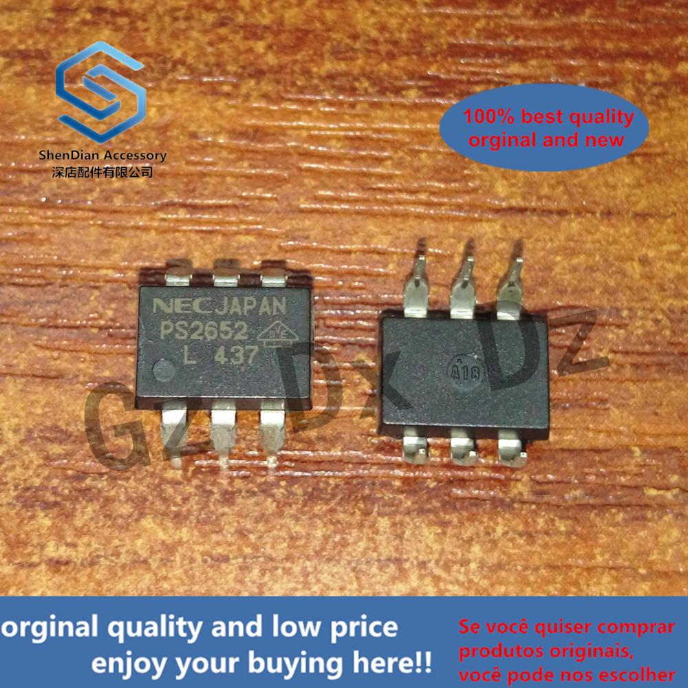 10pcs 100% Orginal New  PS2652 2652  DIP-6  Real Photo