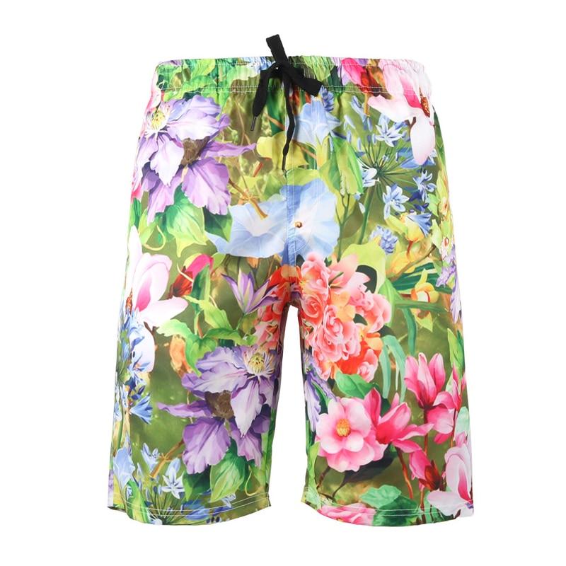 S-6xl Quick Dry Printed Plus Size Men Beach Shorts Swimwear Summer Swim Shorts Men Swimming Bikini Men Swimsuit Bathing Suit 582