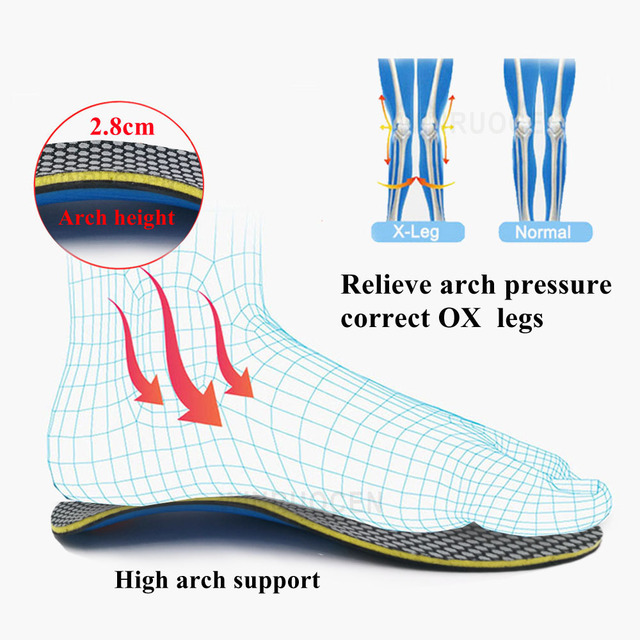 Eva orthopedic insoles orthotics f