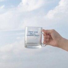 Coffee-Mug Wine-Glass Clouds-Moon Breakfast-Cup Starry New Summer Sky Like Ins-Style