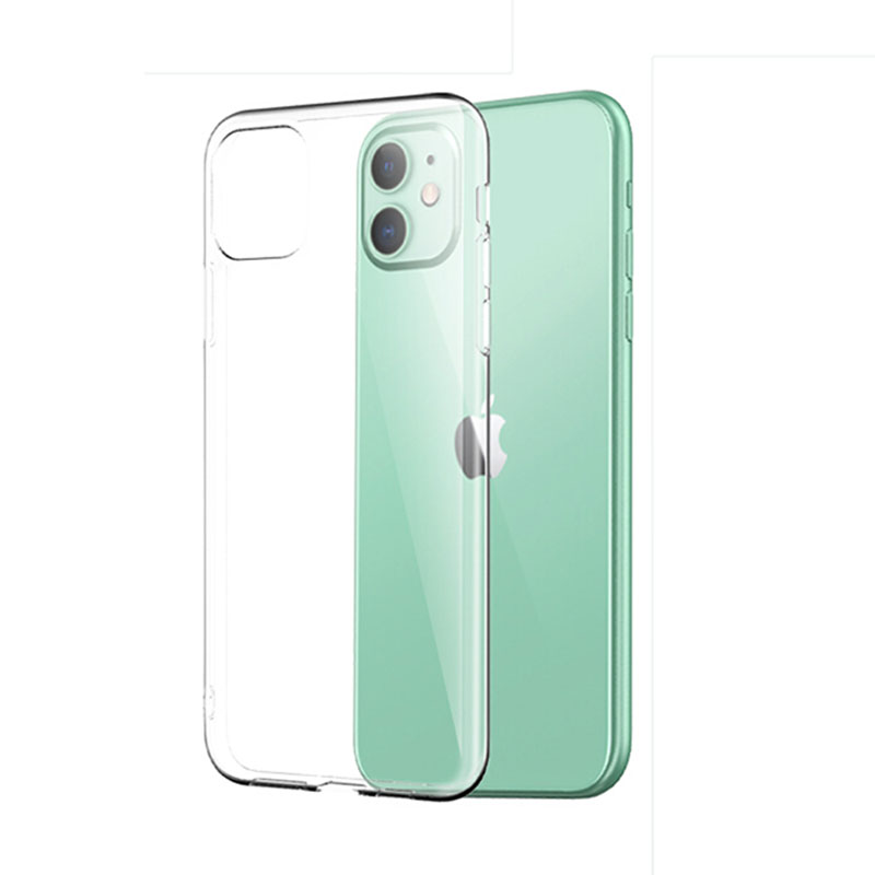 Clear Phone Case For iPhone 11 Case iPhone 7 8 Case Silicon Soft Cover For iPhone 11 Pro XS Max X XR 6S Plus 5 5s SE 2020 Cases(China)