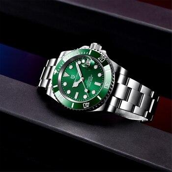 2021 PAGANI Design New 40mm Men Luxury Automatic Mechanical Wrist Watch Men Stainless Steel Waterproof Watch Relogio Masculino 4
