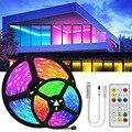 15 м/20 М 5050 RGBWW цветных (RGB) светодиодных лент светильник Водонепроницаемый ленты RGB Светодиодная лента 5 м 10 м Светодиодные полосы светильник с...