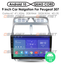 Auto android gps navigation-player Für Peugeot 307 307CC 307SW 2004-2013 auto radio Multimedia stereo WiFi Video 2din android 2 + 32