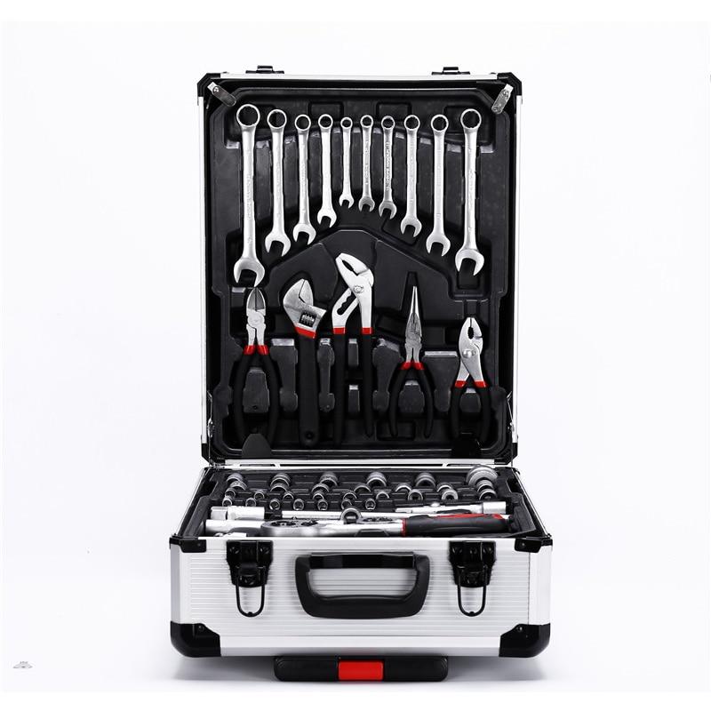 Hardware Tools Manual Repair Wrench Tool Set 187 Combination Set Auto Repair Tools