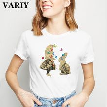 Harajuku Africa Map Graphic T Shirt Women African Heritage Female T-shirts Afro Word Print White tshirt Tumblr Clothes Tops(China)