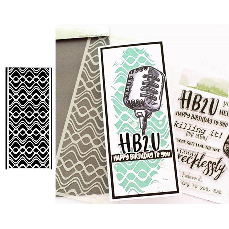Sun Clouds Stamps Stencil For DIY Scrapbooking Card Stencil Paper Craft Handmade Album Handbook Decoration-3