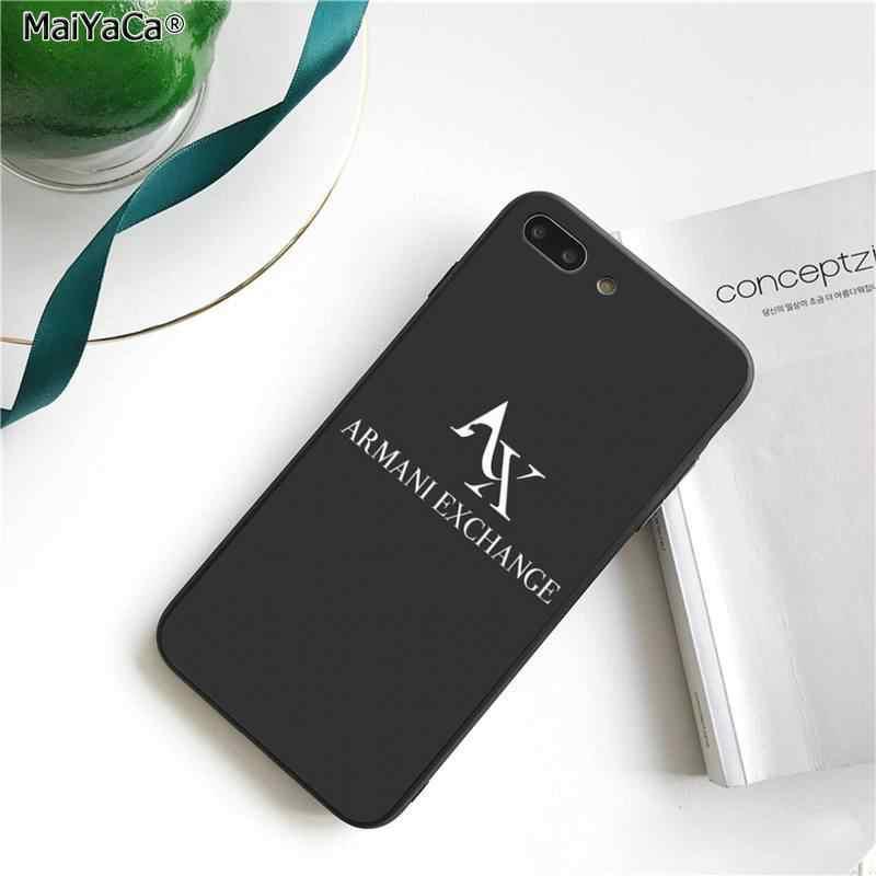 Maiyaca高級イタリアブランド文字のラベル黒電話ケースカバーiphone 11 プロxs最大 8 7 6 6sプラスx 5 5s、se 2020 xrケース