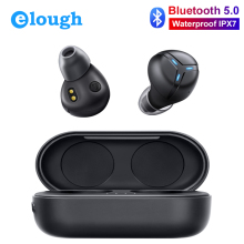 Mini Wireless Headphones Bluetooth Earphones IPX7 Waterproof TWS With Mic Handfree Headset Sport Touch Ture Wireless Earbuds купить недорого в Москве