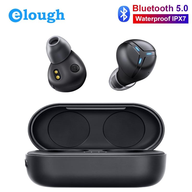 Mini casque sans fil Bluetooth écouteurs IPX7 étanche TWS avec micro mains libres casque Sport tactile Ture sans fil écouteurs