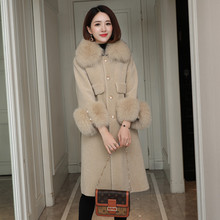Real Fur Coat Women Clothes 2020 Winter Sheep Shearing Wool