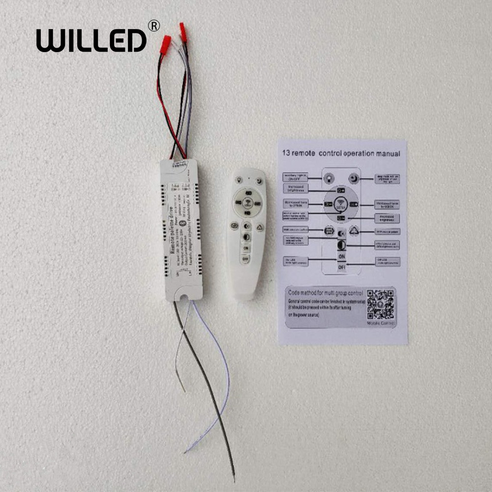 Iralan LED Chandelier Drive Remote Control, Support Mobile Phone APP Control 40W-360W